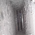 Kanał wentylacyjny przed czyszczeniem