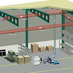 metody czyszczenia budynku przemysłowego